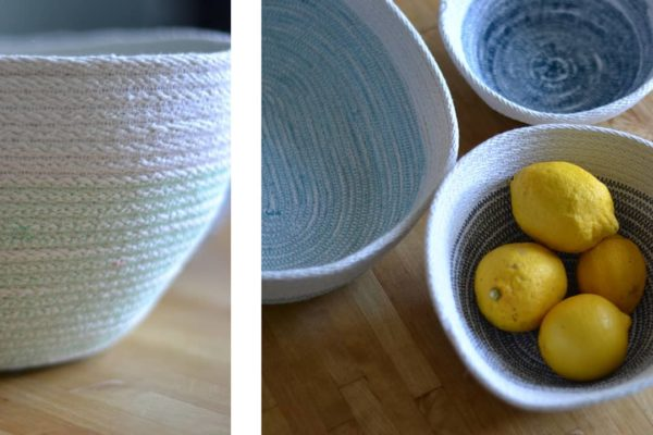 I want to keep making rope bowls,