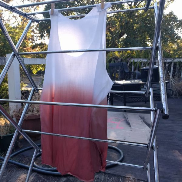 I've leveled up! Dip dye experiment Tank
