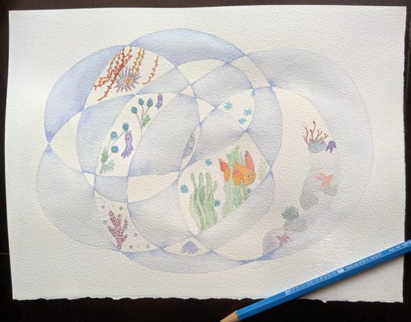 Imaginary fish, plants and jellyfish, oh my!